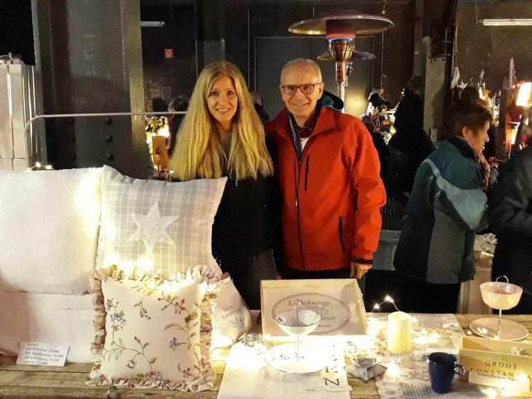 Einblicke in den Kreativmarkt in Bönen mit Kissen, Deko und tollen Helfern
