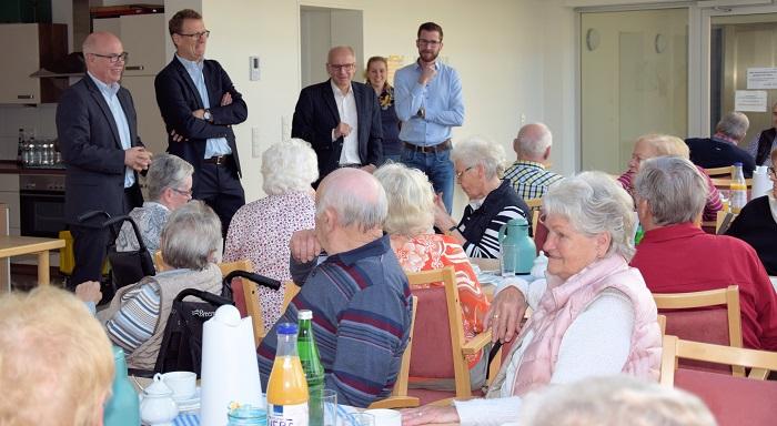 Einblicke in meinen Besuch bei den Senioren der Seniorenwohnanlage in Altenbögge
